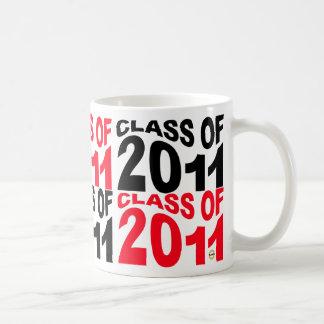 Clase de la onda 2011 de la taza de la graduación
