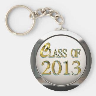 Clase de la plata y del oro del llavero 2013