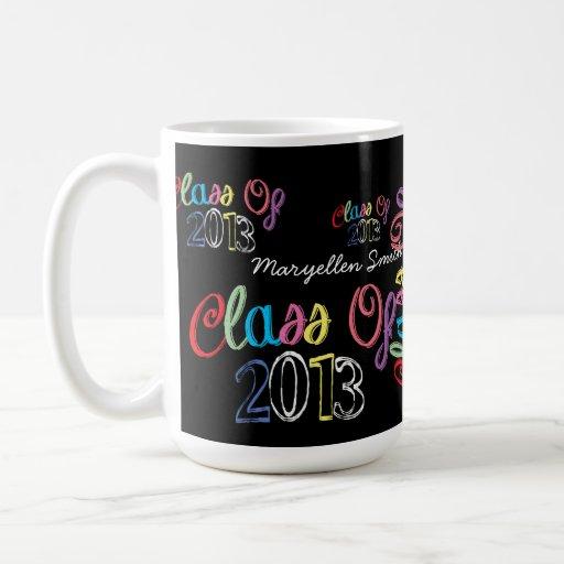 Clase de la taza 2013 de la tipografía de la pizar