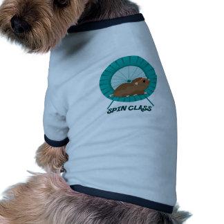 Clase de la vuelta ropa perro