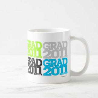 Clase de las graduaciones de taza de 2011 colores