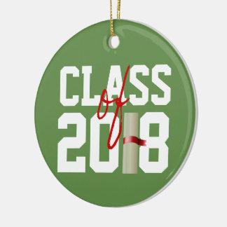 CLASE de ornamento de 2018 navidad