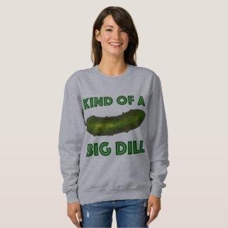 Clase de una camiseta verde grande de la salmuera