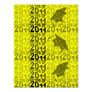 Clase del amarillo 2011 de la invitación TXT271 de