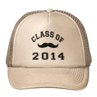 Clase del bigote 2014 gorros bordados