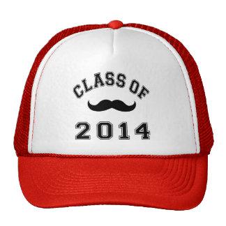 Clase del bigote 2014 gorros