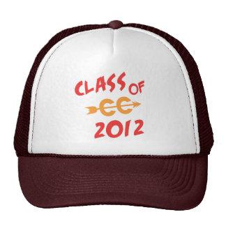 Clase del campo a través 2012 gorras