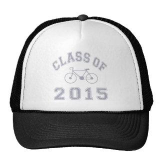 Clase del ciclista 2015 - gris 2 gorro de camionero