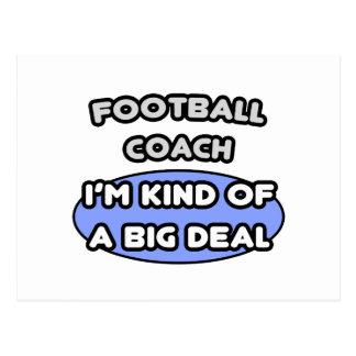 Clase del entrenador de fútbol… de una gran cosa postal