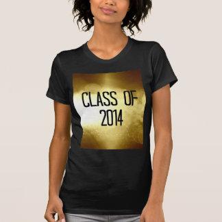clase del fondo 2014 del oro camisas