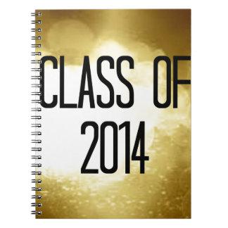 clase del fondo 2014 del oro libreta
