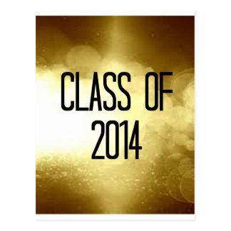 clase del fondo 2014 del oro postal