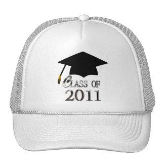 Clase del gorra 2011 de la graduación