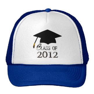 Clase del gorra 2012 de la graduación