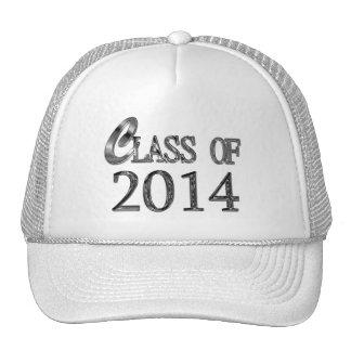Clase del gorra 2014 de la graduación