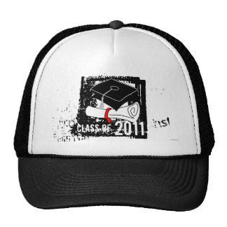 Clase del gorra 5 del diploma de 2011 casquillos
