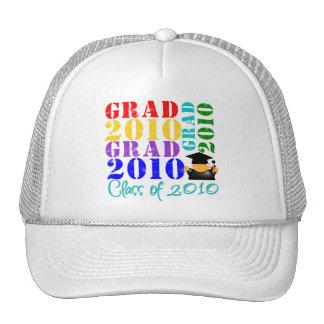 Clase del graduado de 2010 gorras de camionero