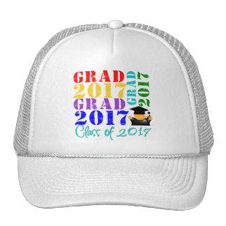 Clase del graduado de 2017 gorro