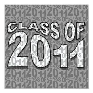 Clase del gris 2011 de la invitación TXT264 de la