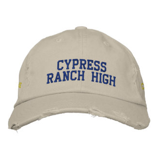 Clase del *HAT* del rancho de Cypress alta de 13 Gorra De Béisbol