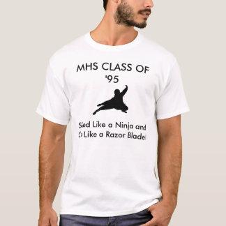 Clase del MHS 'de la camiseta #2 del arrastre de