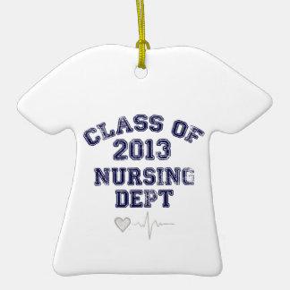 Clase del oficio de enfermera de 2013 adornos