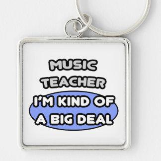 Clase del profesor de música… de una gran cosa llaveros
