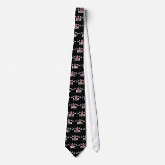 Clase del rojo 2016 corbatas personalizadas