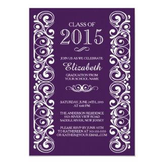 Clase elegante de la invitación 2015 de la fiesta