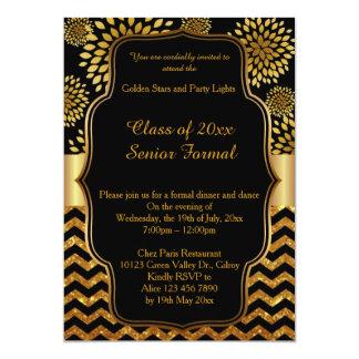 Clase formal mayor 2017 del baile de fin de curso invitación 12,7 x 17,8 cm