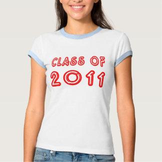 Clase fresca de la camiseta 2011