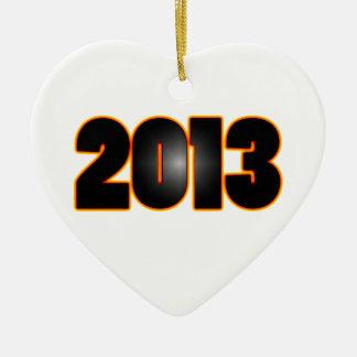 Clase fresca del fuego de 2013 ornamentos de navidad