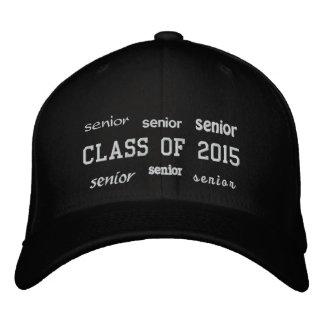 Clase mayor de 2015 - gorra bordado gorra de béisbol
