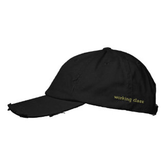 clase obrera gorra bordada