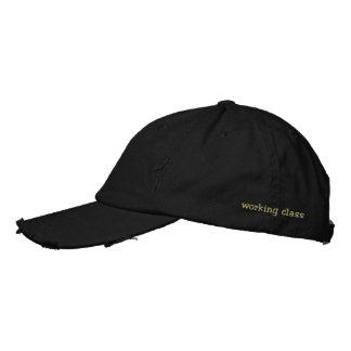 clase obrera gorras bordadas
