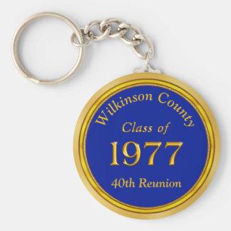 Clase personalizada barata de 1977 llaveros