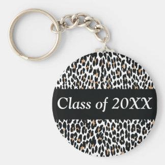 Clase personalizada leopardo de llavero
