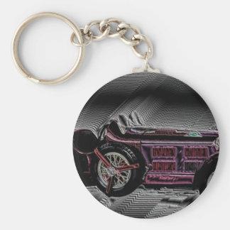 Classic car from Italy - Work Digitales Llavero Redondo Tipo Chapa
