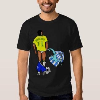 Clássico rival del Brasil la Argentina mundial Camisetas