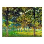 Claude Monet: El Allee Du Champ De Foire Postales