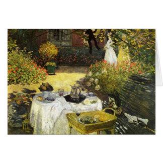 Claude Monet El almuerzo Felicitaciones