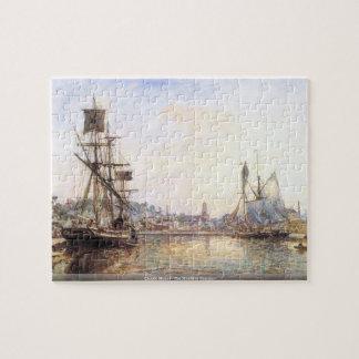 Claude Monet - el puerto marítimo de Honfleur Puzzle