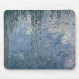 Claude Monet el | Waterlilies: Sauces que lloran, Alfombrilla De Ratón