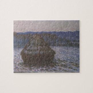 Claude Monet - Haystacks en el rompecabezas de la