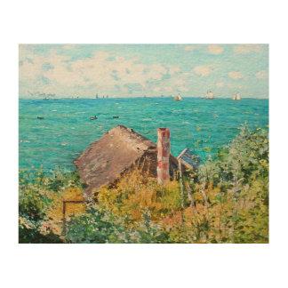 Claude Monet la cabina en la bella arte del