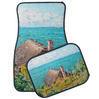 Claude Monet la cabina en la bella arte del Alfombrilla De Coche