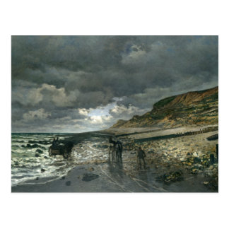 Claude Monet - La Pointe de la Hève durante la Postal