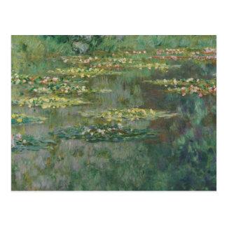 Claude Monet - Le Bassin des Nympheas Postal