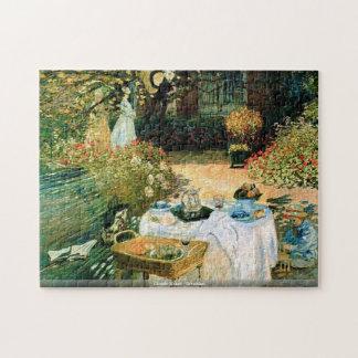 Claude Monet - rompecabezas del desayuno