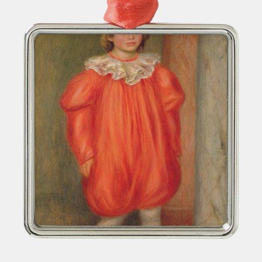 Claude Renoir en un traje del payaso, 1909 Adornos